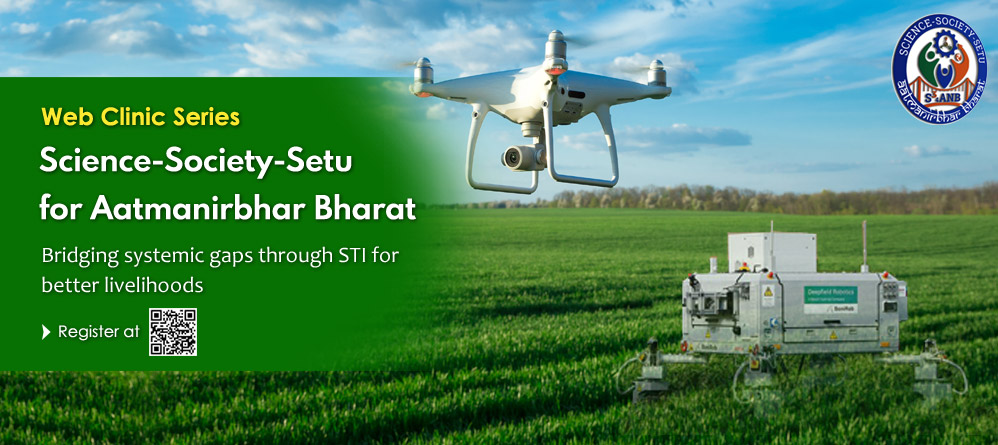 Science-Society-Setu for Aatmanirbhar Bharat (S34ANB)