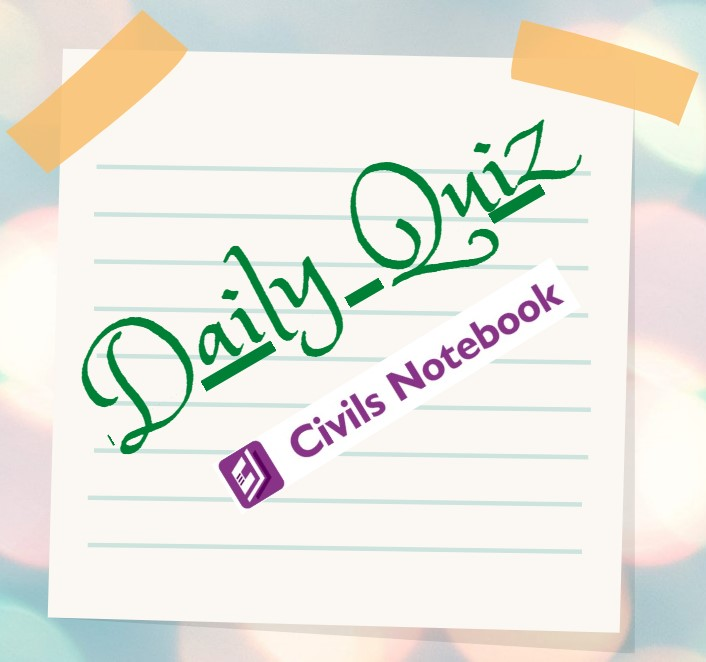 Daily Quiz: 22nd April 2021